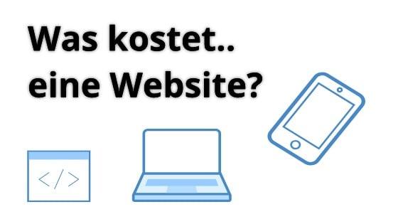 Was kostet eine eigene Website?