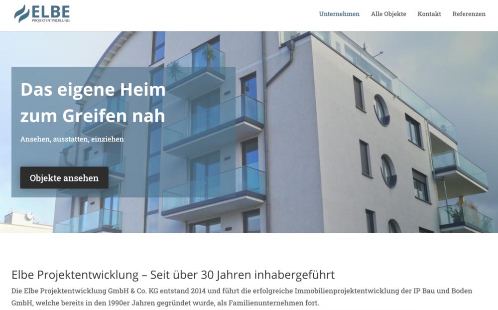 elbeprojekt webdesign referenz